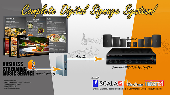 StoreStreams Digital Signage & Menu Booards